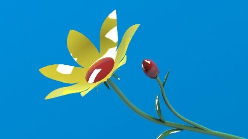 طراحي گل